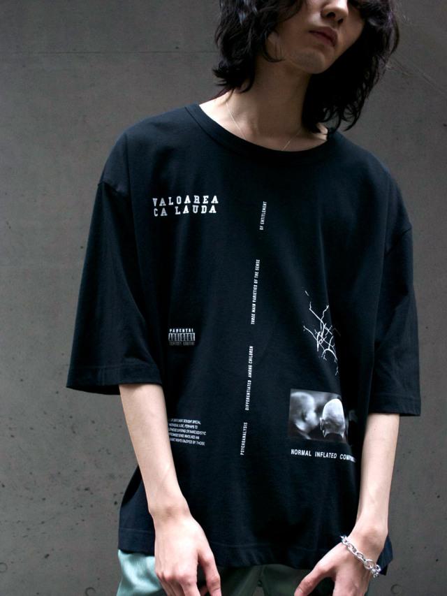 "JieDa(ジエダ)  ""RANDOM TEE"" <Tシャツ カットソー> - BLACK"