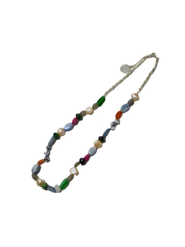 """【SOLD OUT】 JieDa """"MIX STONE NECKLACE"""""""