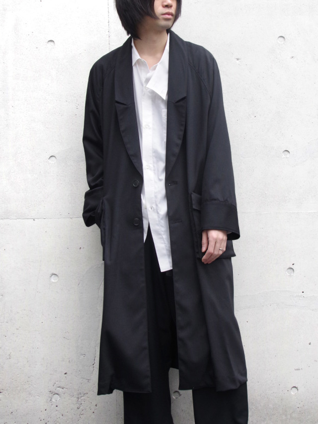 "【20SS】 JUHA (ユハ)  ""BACK OPEN OVER COAT"" <コート>"