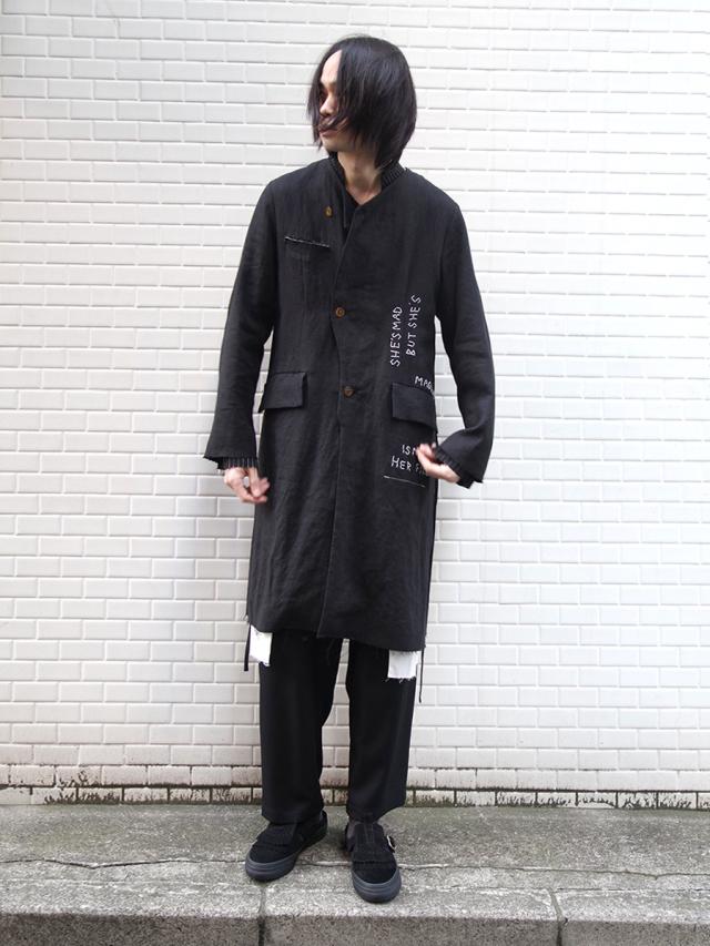 "【2020SS】 LEH (レー)  ""NOT TRADITIONAL 3LAYERED COAT"" <コート>"