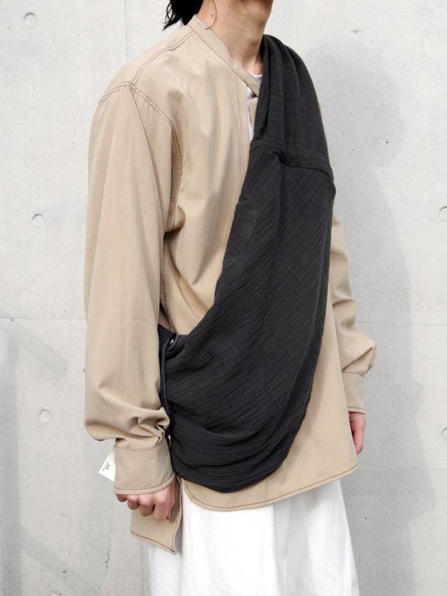 """【2021SS】 LEH (レー)  """"袈裟BAG"""" <バッグ> - INK BLACK"""