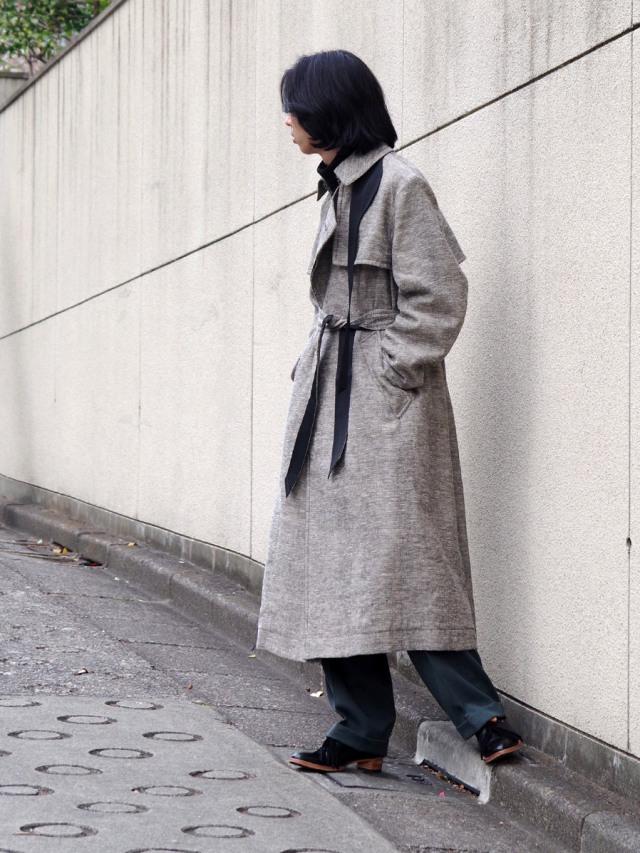 """【2021SS】 MASU (マス/エムエーエスユー) """"OVER TRENCH COAT"""" <コート>"""