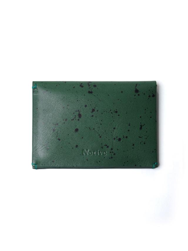 """Notive (ノーティヴ) // """"CARD CASE NJWF-04"""" <レザーカードケース> - GREEN"""