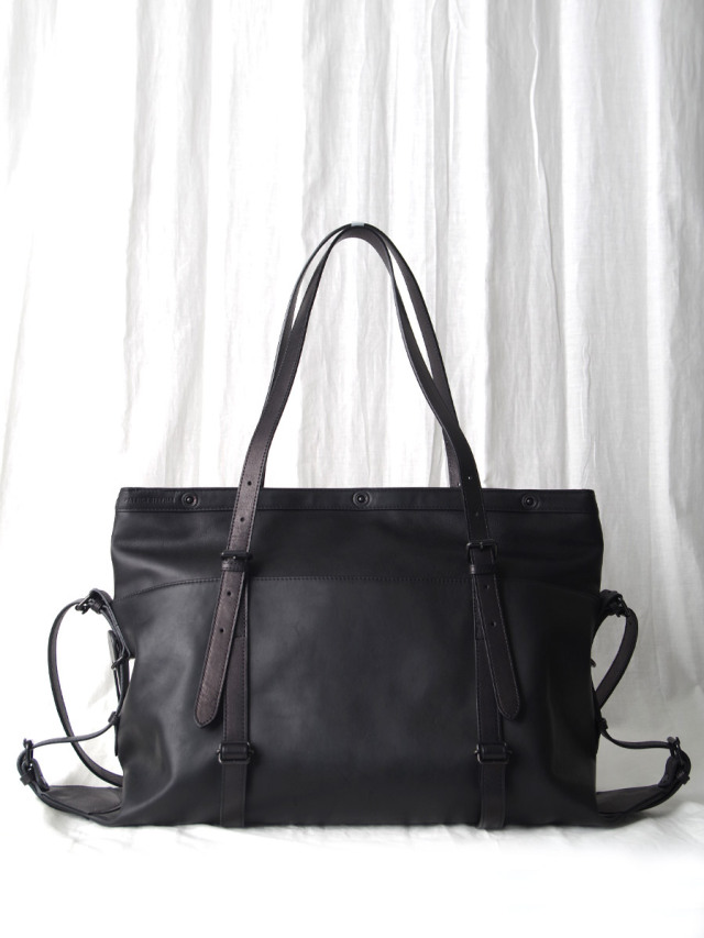 "PATRICK STEPHAN (パトリックステファン) ""Leather bag 'atelier' M2"" #204ABG02 <バッグ>"