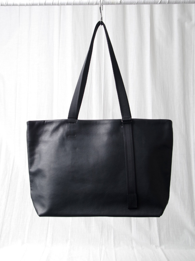 "PATRICK STEPHAN (パトリックステファン) ""172ABG01 Leather tote wide 'adjustable shoulder' <トートバッグ ショルダーバッグ>"