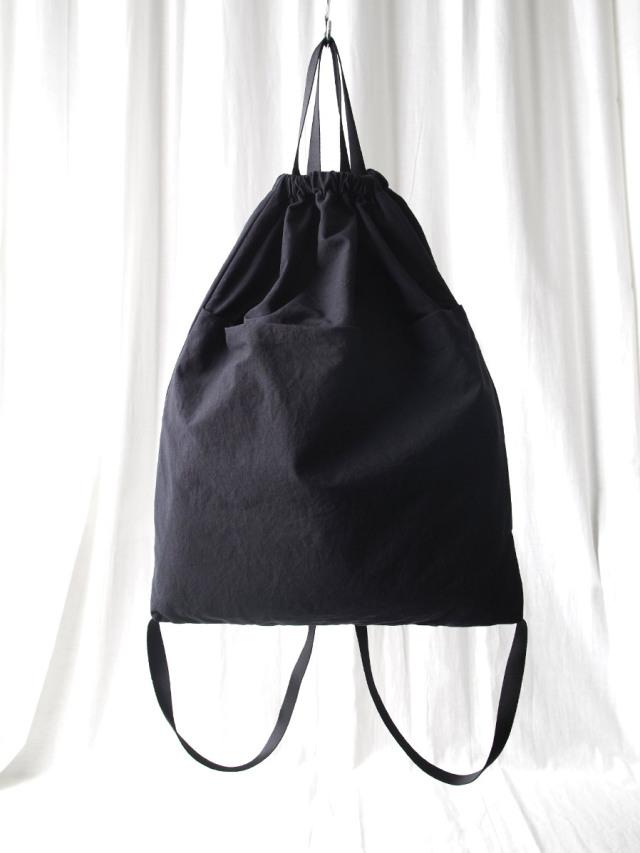 "PATRICK STEPHAN (パトリックステファン) ""Fabric knapsack 'drawstring'"" #203ABG08 <ナップサック バッグ リュック>"