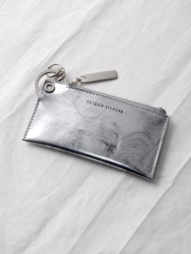"""PATRICK STEPHAN (パトリックステファン) """"Leather key case & holder"""" #203AAO04 <キーケース> - SCRATCH SILVER"""