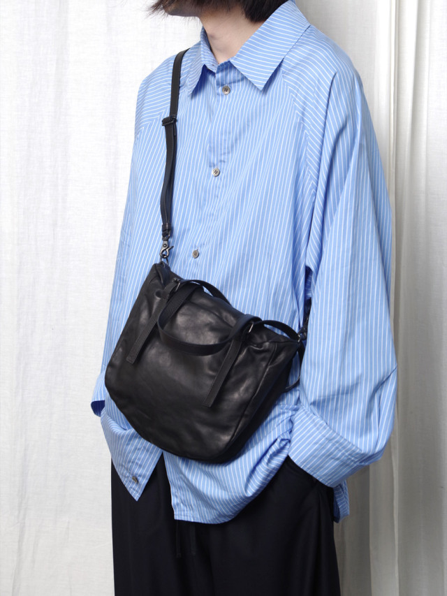"PATRICK STEPHAN (パトリックステファン) ""Leather bag 'petit-chiffon' 20 203ABG06"" <ショルダーバッグ>"