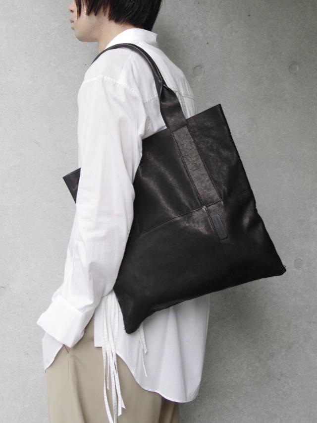 "PATRICK STEPHAN (パトリックステファン) ""Leather tote 'thin & light' 2"" #183ABG13 <ショルダーバッグ ハンドバッグ>"