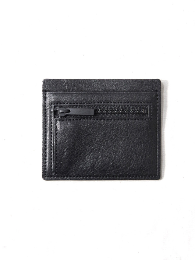 "PATRICK STEPHAN (パトリックステファン) ""Card & coin case fragment"" #213AAO03 <カードケース コインケース> - BLACK"