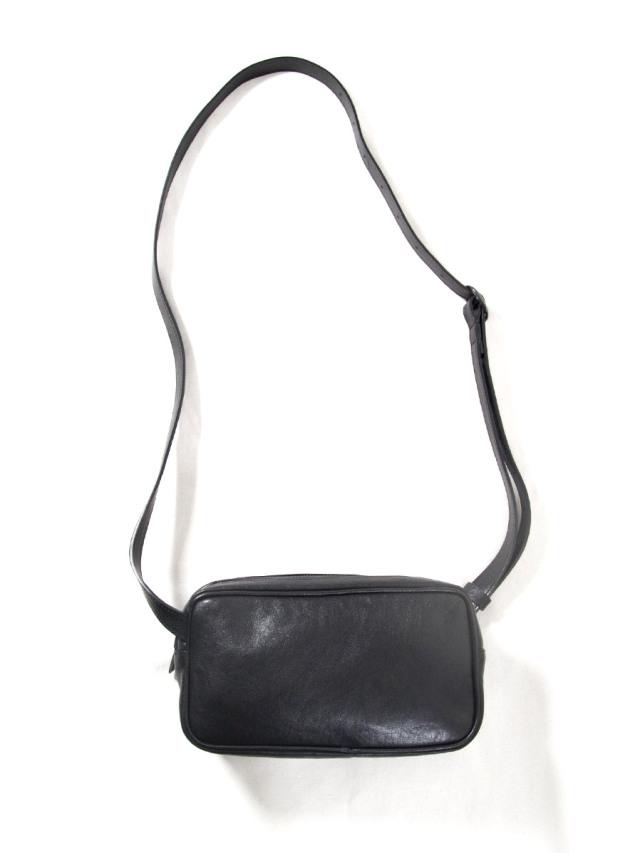 """PATRICK STEPHAN (パトリックステファン) """"Leather shoulder bag 'double zip'"""" #203ABG02 <サコッシュ  バッグ>"""
