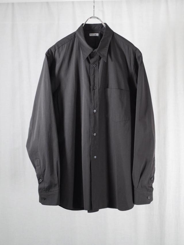 "RAKINES ""TRINITY CHAMBRAY CLOTH - R-SHIRT"" - LOGWOOD"