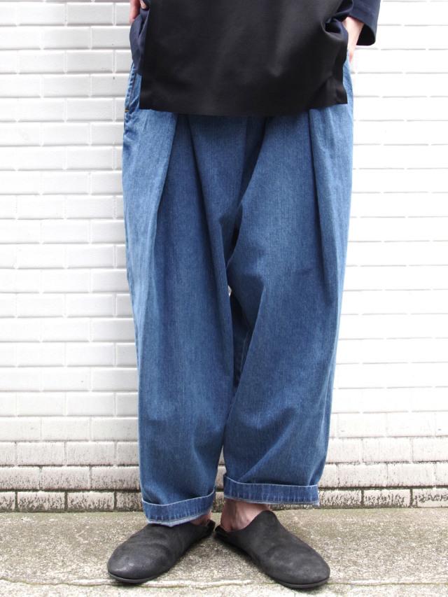 "【21SS】RELAXFIT (リラックスフィット) ""WRAP EASY DENIM"" <イージーデニム> - ICE BLUE"
