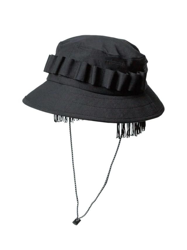 """【2020AW】 Sasquatchfabrix. (サスクワァッチファブリックス) """"FRINGE JUNGLE HAT"""" <ハット>"""