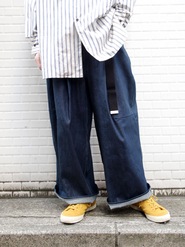 "SHINYAKOZUKA (シンヤコヅカ) ""AS 90'S WAS"" <パンツ> - RIGID"