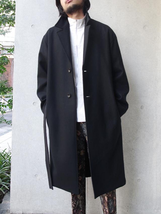 "【19AW】 soe (ソーイ)  ""Belted Wool Coat"" <コート>"