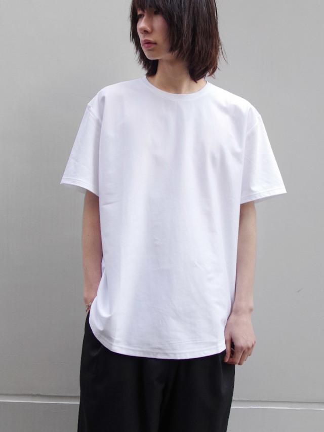 "【19SS】 soe (ソーイ)  ""ROUND HEM TALL T"" <Tシャツ/カットソー> - WHITE"