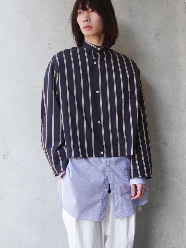 "【19SS】 soe (ソーイ)  ""Double Mackinaw Shirt"" <ロングシャツ>"