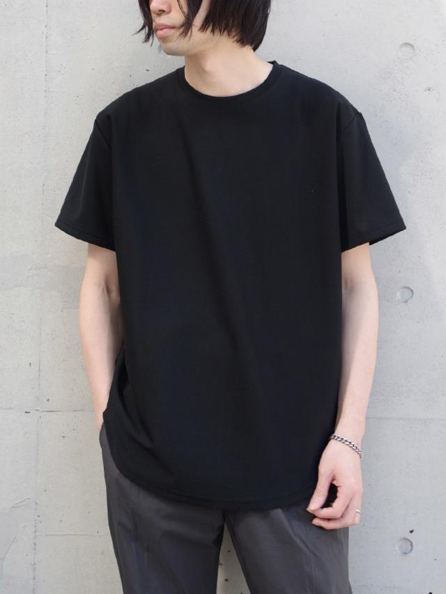 """【20SS】 soe (ソーイ)  """"ROUND HEM TALL T"""" <Tシャツ/カットソー> - BLACK"""
