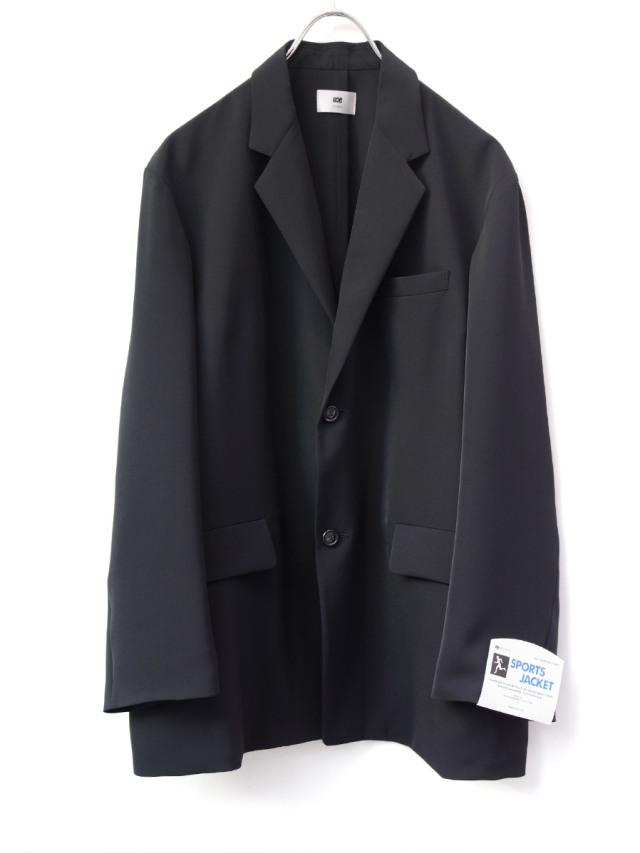 "【20SS】 soe (ソーイ)  ""Sport Jacket"" <ジャケット> - BLACK"