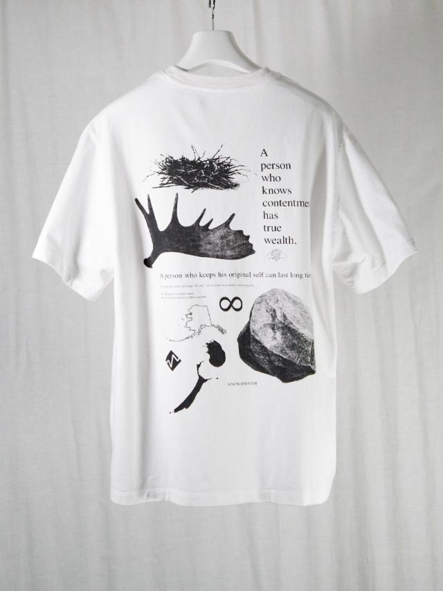 """【21SS】 soe (ソーイ)  """"KNOW ENOUGH"""" H/S Tee-B <Tシャツ/カットソー>"""