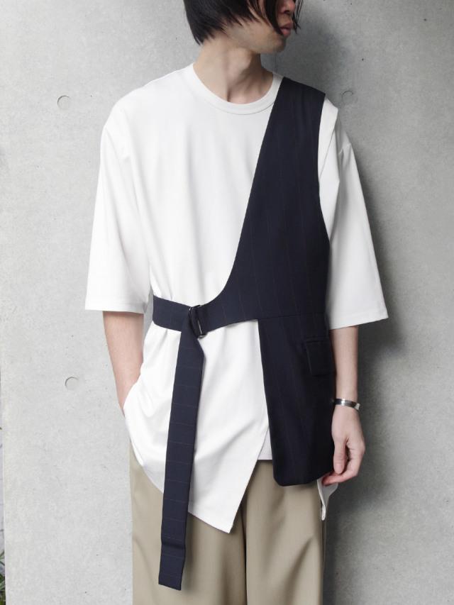 """【20SS】 UJOH (ウジョー)  """"Layered Vest"""" <ベスト>"""