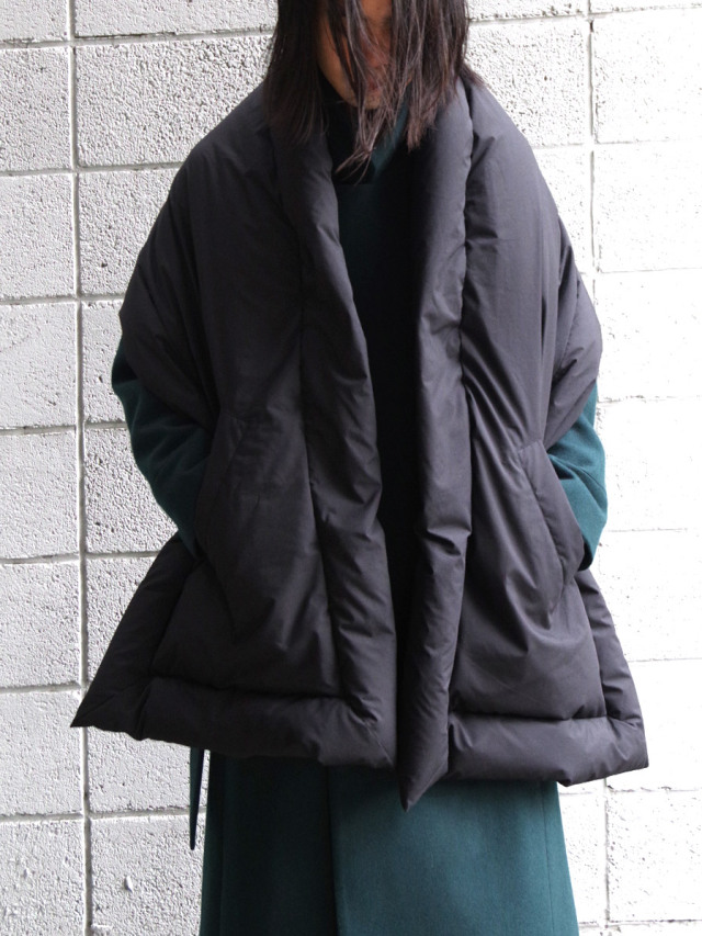 "【20AW】 VOAAOV (ヴォアーブ)  ""MICROFIBER CLOTH DOWN STOLE"" <ダウンストール>"