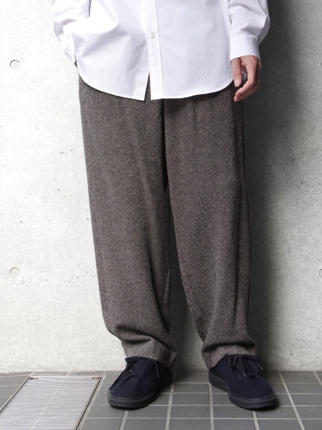 "【20AW】 VOAAOV (ヴォアーブ)  ""TUMBLER TWEED WIDE PANTS"" <パンツ>"