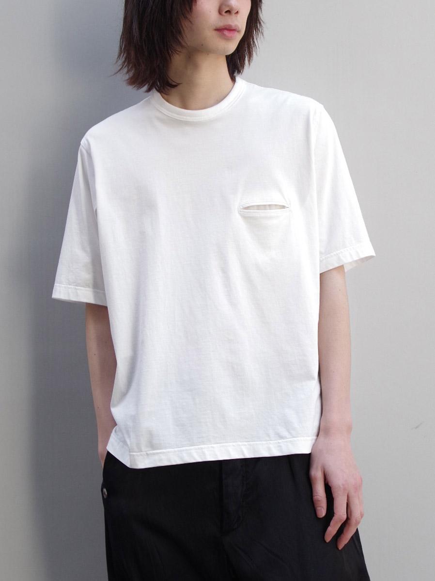 """<19SS> MASU (マス/エムエーエスユー) """"POCKET T-SHIRTS"""" <カットソー/Tシャツ> - 全2色"""