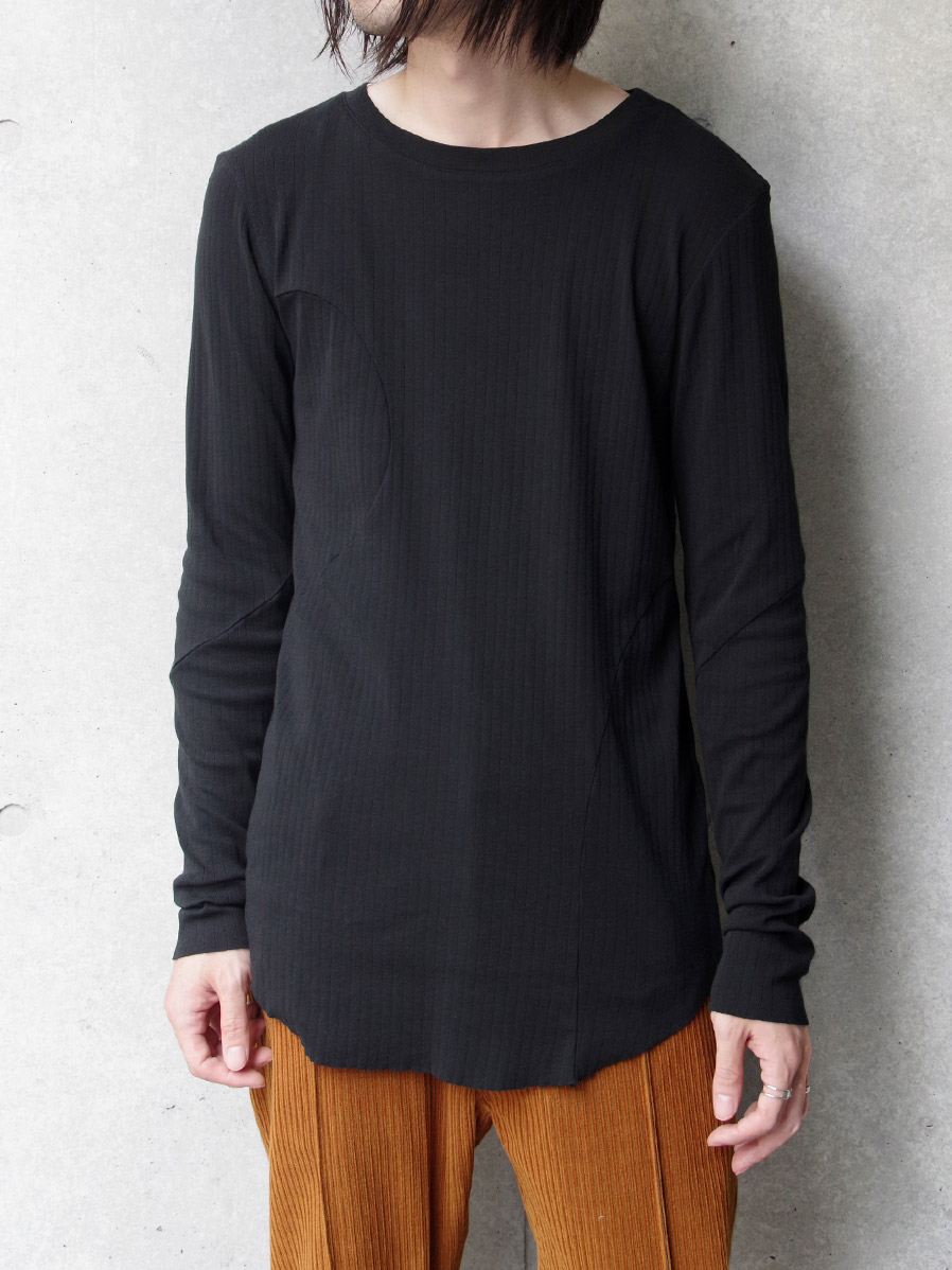 "【2020AW】 MASU (マス/エムエーエスユー) ""WAVING PATTERN LONG T-SHIRT"" <カットソー>"