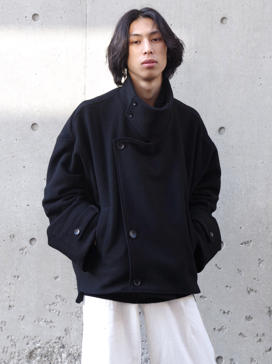 "my beautiful landlet (マイビューティフルランドレット)  ""TATAMI WOOL WIDE JACKET"" <ジャケット>"