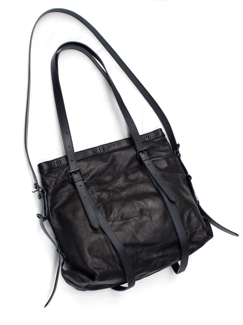 PATRICK STEPHAN (パトリックステファン) Leather-washed bag 'micro-atelier' #009ABG18  <レザートートバッグ>