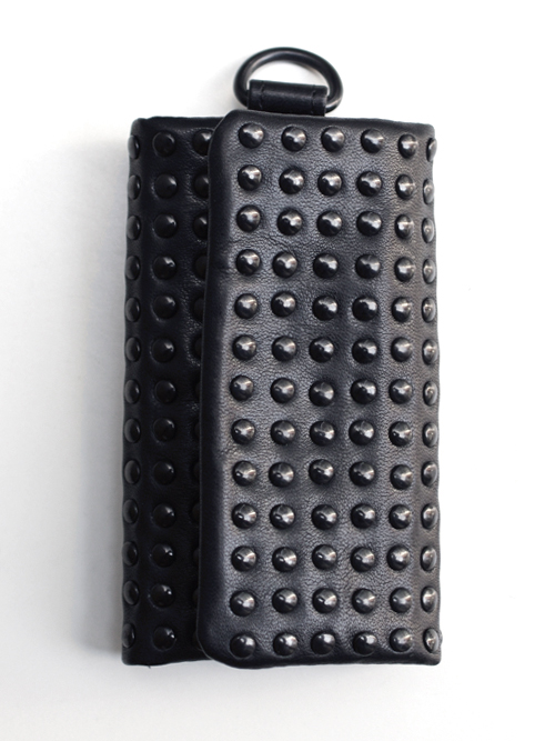 PATRICK STEPHAN (パトリックステファン) Leather key case 'all-studs' - DAL STUDS #106AAO14  <キーケース>