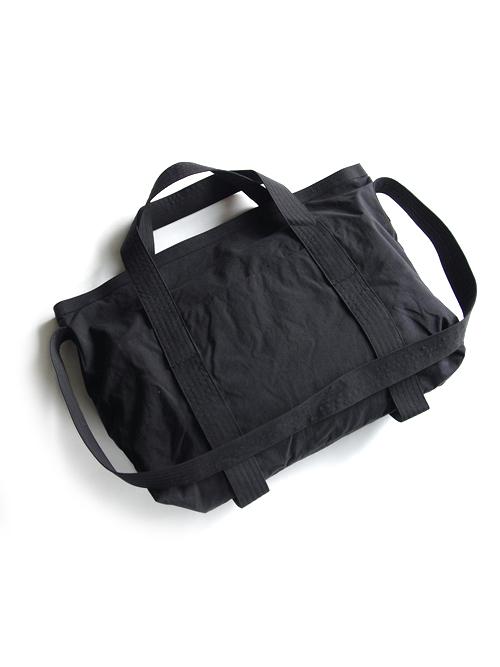 "PATRICK STEPHAN (パトリックステファン) ""Fabric bag"" 'atelier' #171ABG01 <ショルダーバッグ> - BLACK"
