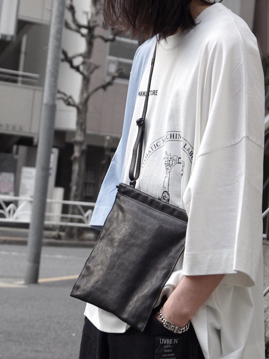 "PATRICK STEPHAN (パトリックステファン) ""Leather shoulder bag 'spring closure'"" #191ABG04 <ショルダーバッグ/サコッシュ>"