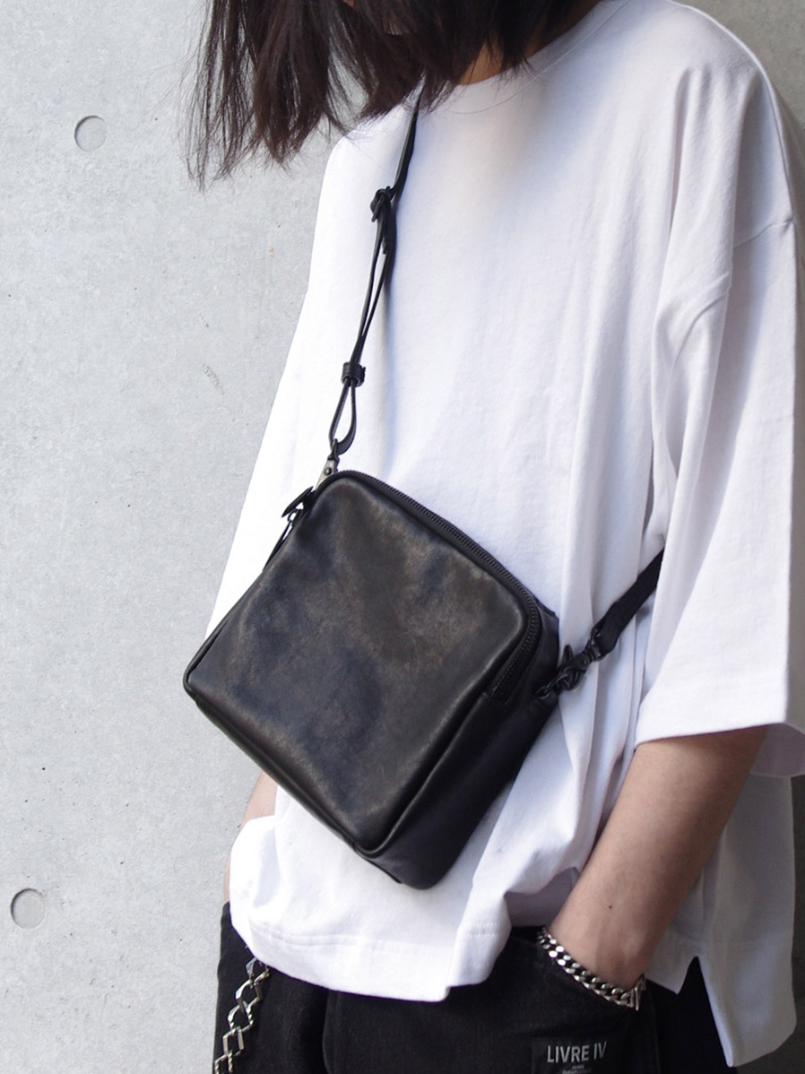 "PATRICK STEPHAN (パトリックステファン) ""Leather shoulder bag ""boite"""" #191ABG05 <ショルダーバッグ/サコッシュ>"