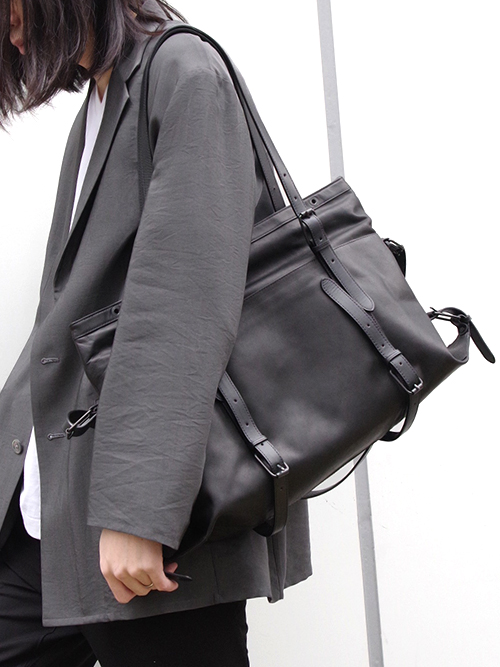 "PATRICK STEPHAN (パトリックステファン) ""Leather bag 'atelier' M"" #009ABG02 <バッグ>"