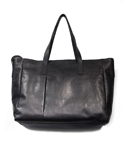 "PATRICK STEPHAN (パトリックステファン) ""Leather tote bag 'grande poche' 2"" #174ABG01 <トートバッグ>"