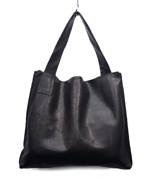 """PATRICK STEPHAN (パトリックステファン) """"Leather shoulder bag 'simple'"""" #156ABG03 <トートバッグ>"""