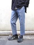 "【2021SS】 ANEI (アーネイ)  ""TRACK SLACKS SLIM J.P."" <パンツ> - BLUE GRAY"