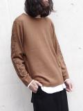 """AlexanderLeeChang(アレキサンダーリーチャン) """"OTC knit"""" <ニット> - BROWN"""