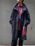 "【20AW】 ALMOSTBLACK (オールモストブラック) ""MODS COAT graphic by PETER DE POTTER"" <モッズコート>"