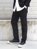 """【20AW】 ALMOSTBLACK (オールモストブラック) """"DOUBLE CLOTH SLACKS"""" <スラックス>"""