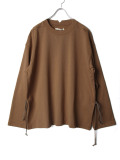 "【2020AW】 ANEI (アーネイ)  ""W.C. SWEAT LOOSE"" <スウェット> - BROWN"