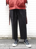 "【2020AW】 ANEI (アーネイ)  ""INTUCK SLACKS WIDE"" <パンツ> - BLACK"