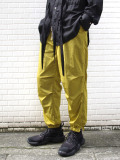 "【2020AW】 ANEI (アーネイ)  ""SIDEZIP TECH JOGGER ""A"""" <パンツ> - DK. LIME"