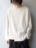 "【2020SS】 ANEI (アーネイ)  ""CREW NECK LOOSE"" <カットソー> - LT.BEIGE"