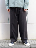 "ANEI (アーネイ)  ""ISLE PANTS"" <ワイドパンツ> - BLACK"