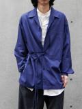 "【2021SS】 ANEI (アーネイ)  ""IMI SHIRT"" <シャツ> - BLUE"