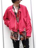 "【18AW】 BED J.W. FORD (ベッドフォード) ""Coach jacket"" 18AW-B-JM05 <ジャケット/ブルゾン> - PINK"